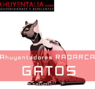 Ahuyentadores Radarcan para Gatos